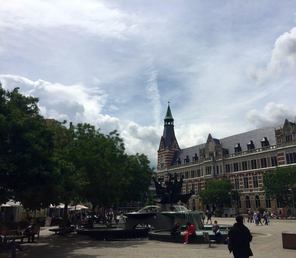 Erfurt Reisebericht - An der Hauptpost