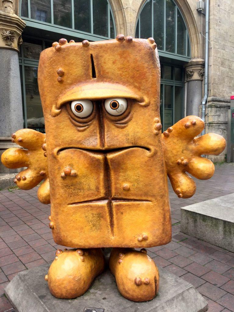 Prominenz in Erfurt - Bernd das Brot
