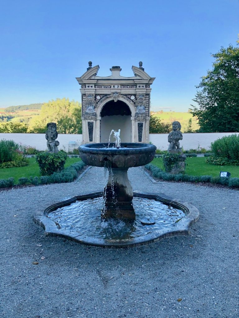 Schloss Neuburg Barockgarten