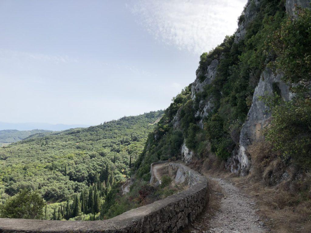 Korfu Trail tolle Aussichten