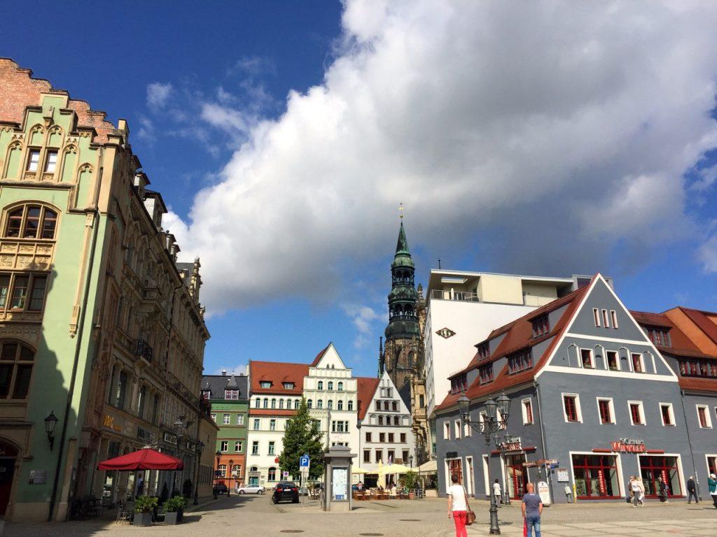 Historische Hauszeile Zwickau