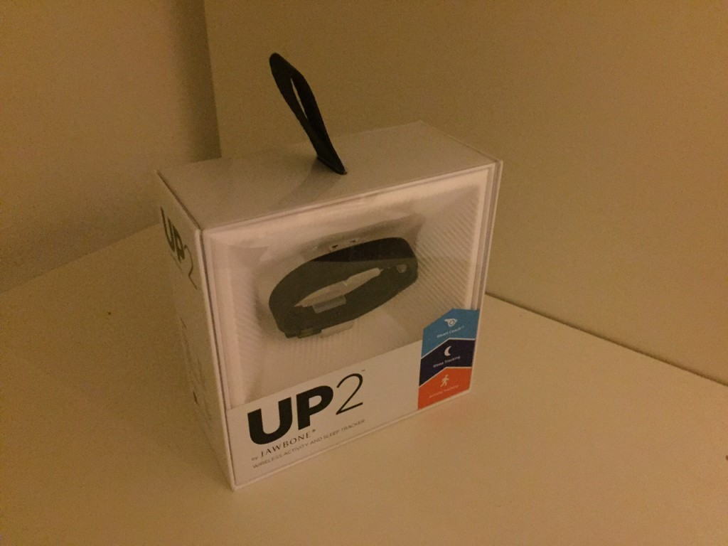 Anboxing Jawbone Up 2