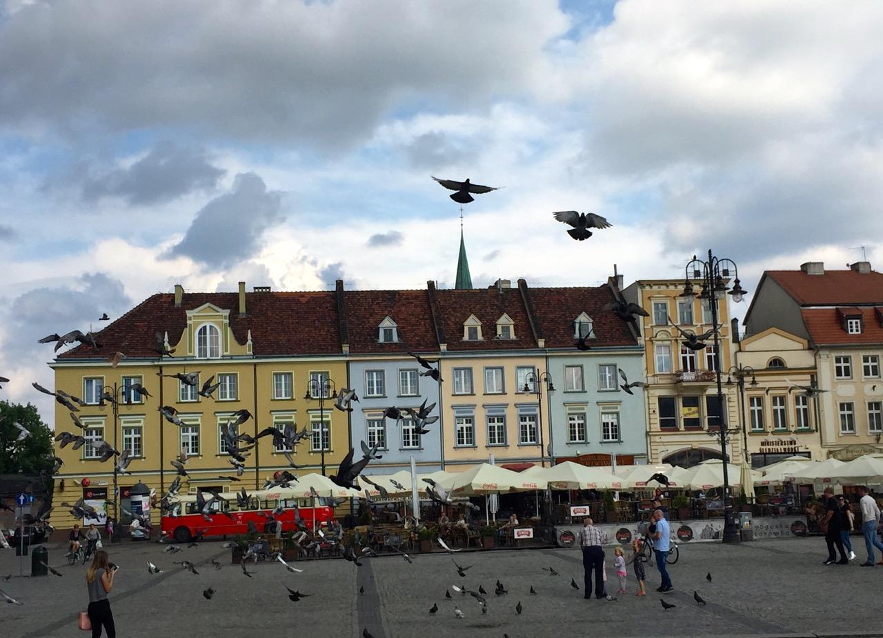 Buntes Treiben in Bromberg Polen