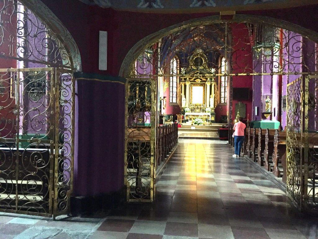 Blick in die Kathedrale Bromberg