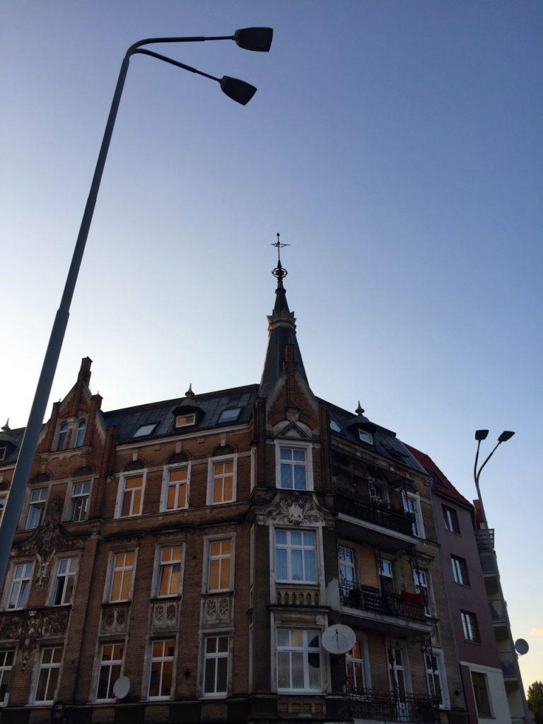 In diesem Haus war unser Stettin Apartment