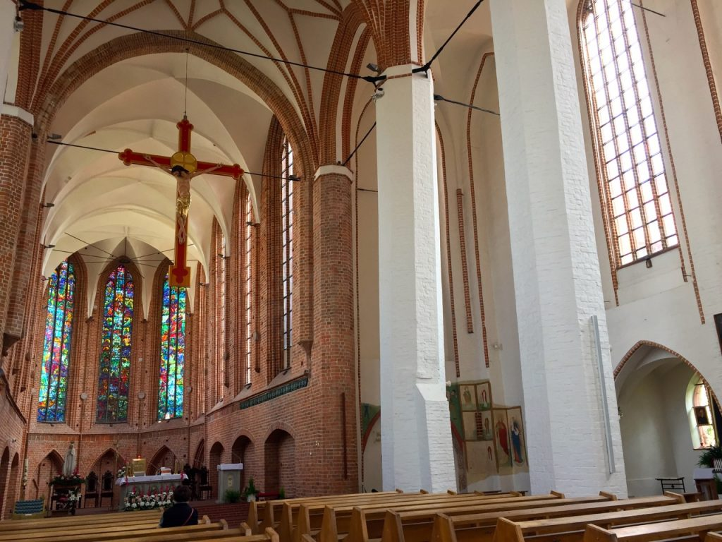 Roter Faden Stettin - Blick in verschiedene Kirchen