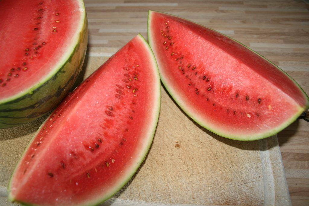 Rezept Salat - Wassermelonensalat