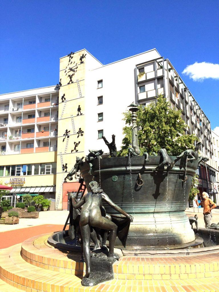 Faunbrunnen Magdeburg