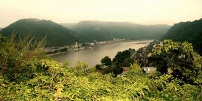 Blick vom Romantik Hotel Schloss Rheinfels