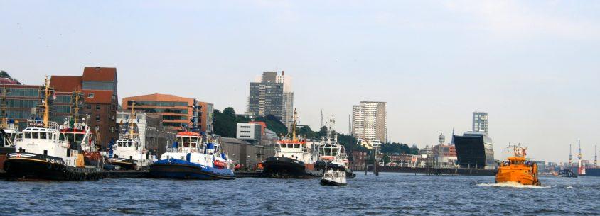 Hamburg vom Wasser