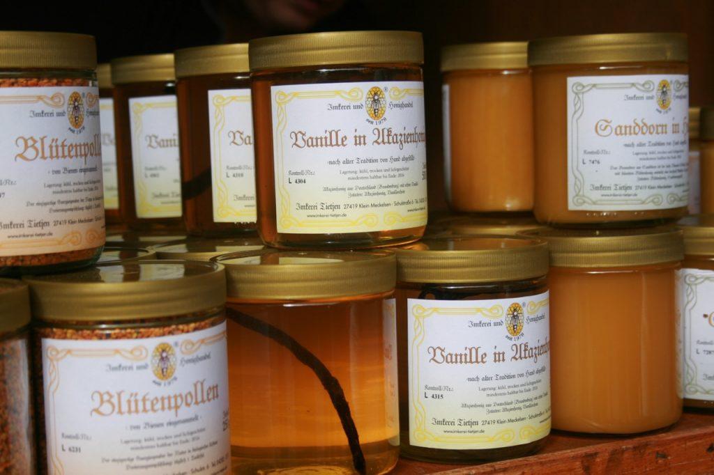 Honig in allen Varianten - Honig gesund