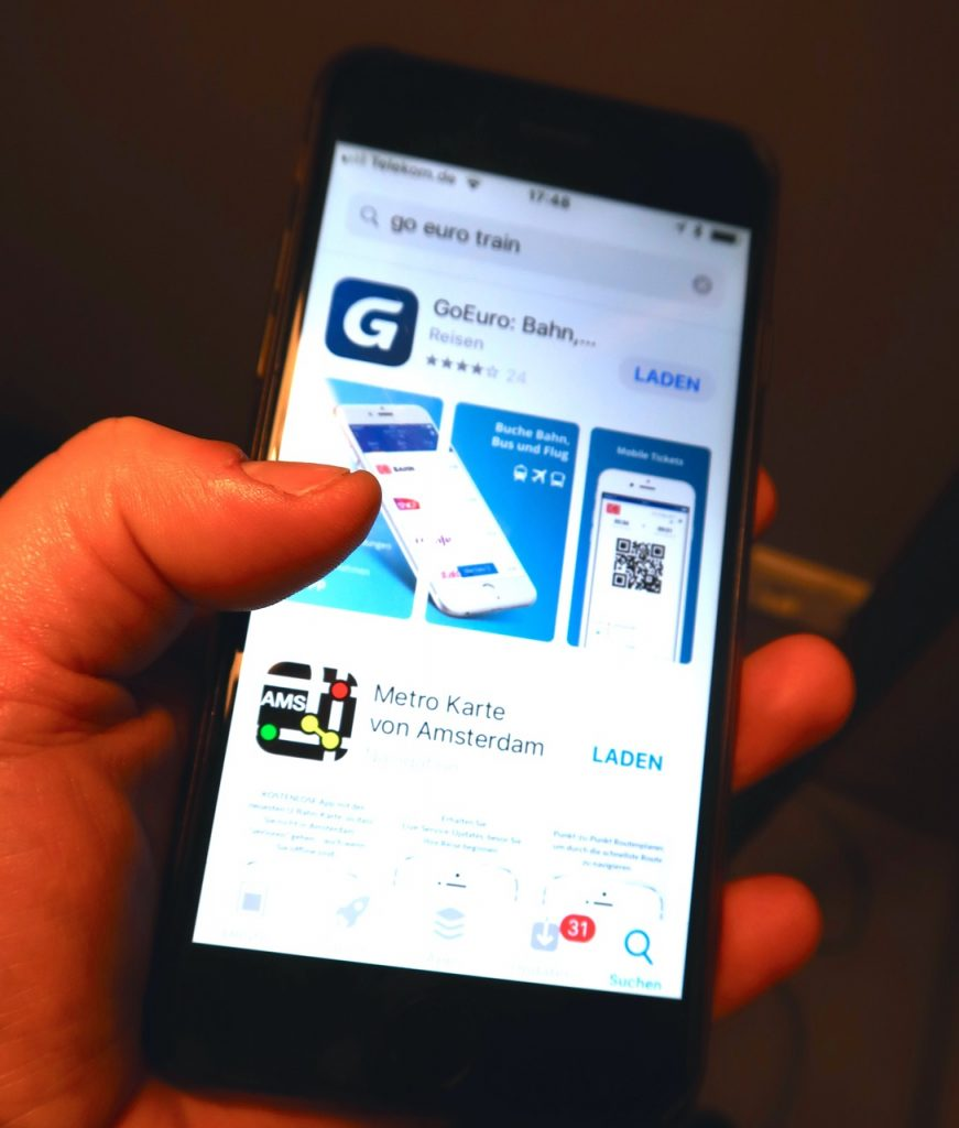 GoEuro App