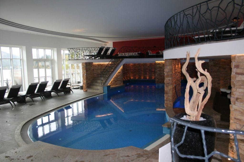 Treschers Schwarzwaldhotel Innenpool - Treschers am See