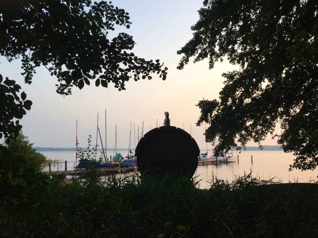Schlaffass am Ratzeburger See