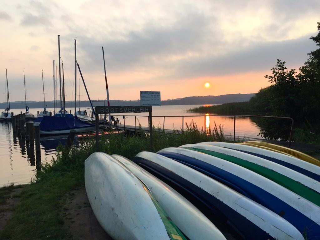 Boote am Ratzeburger See