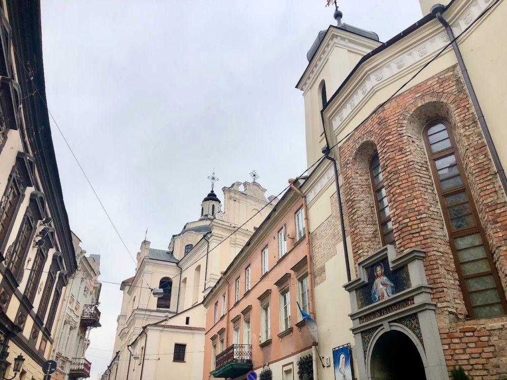 Hauptstadt von Litauen Vilnius