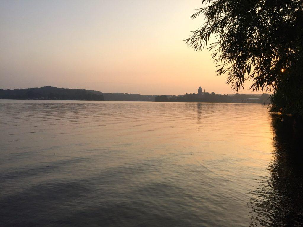 Ratzeburger See Wanderung zum Sonnenaufgang