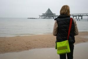 Wellness-Bummler am Strand von Usedom