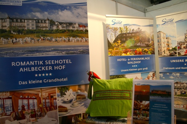 Am Stand der Seetel Hotels Usedom
