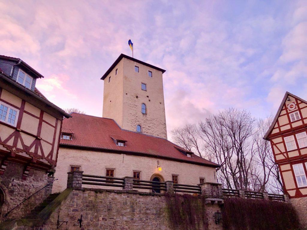 Burg Warberg im Harzvorland