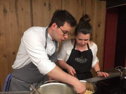 Kochen mit Felix Weber