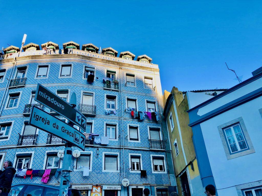 Fliesenverzierung Lissabon