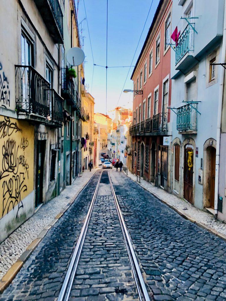 In den Strassen von Lissabon