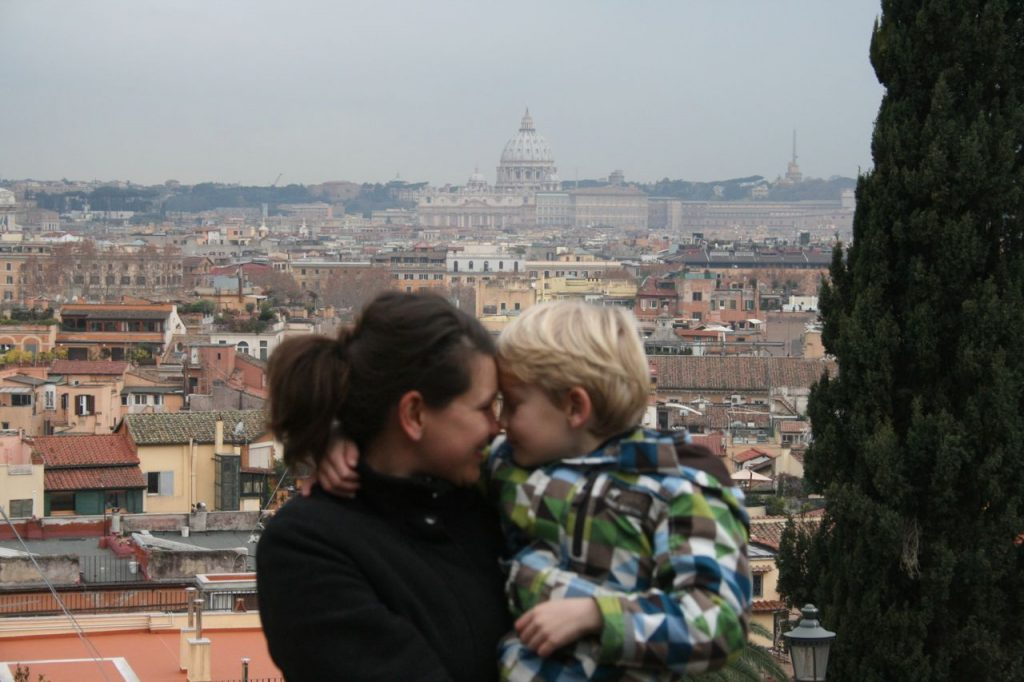 Rom Reisezeit Januar: Klarer Blick auf Rom
