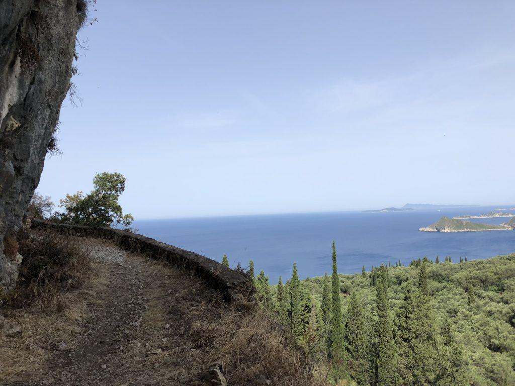 Wandern mit Corfelios auf dem Korfu Trail