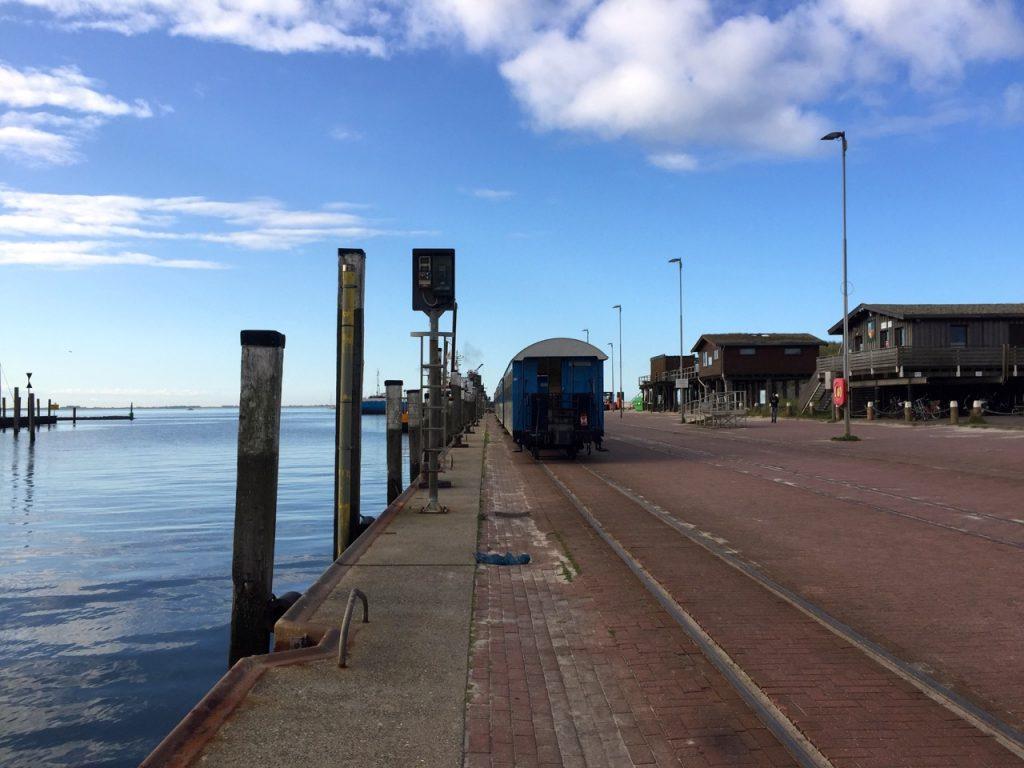 Wangerooge Anreise - ankommen am Bahnhof