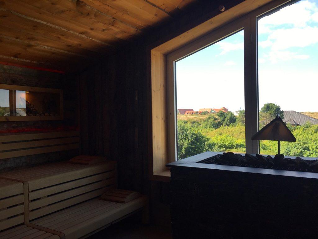 Ausblick Panorama Sauna Inselbad & Dünenspa