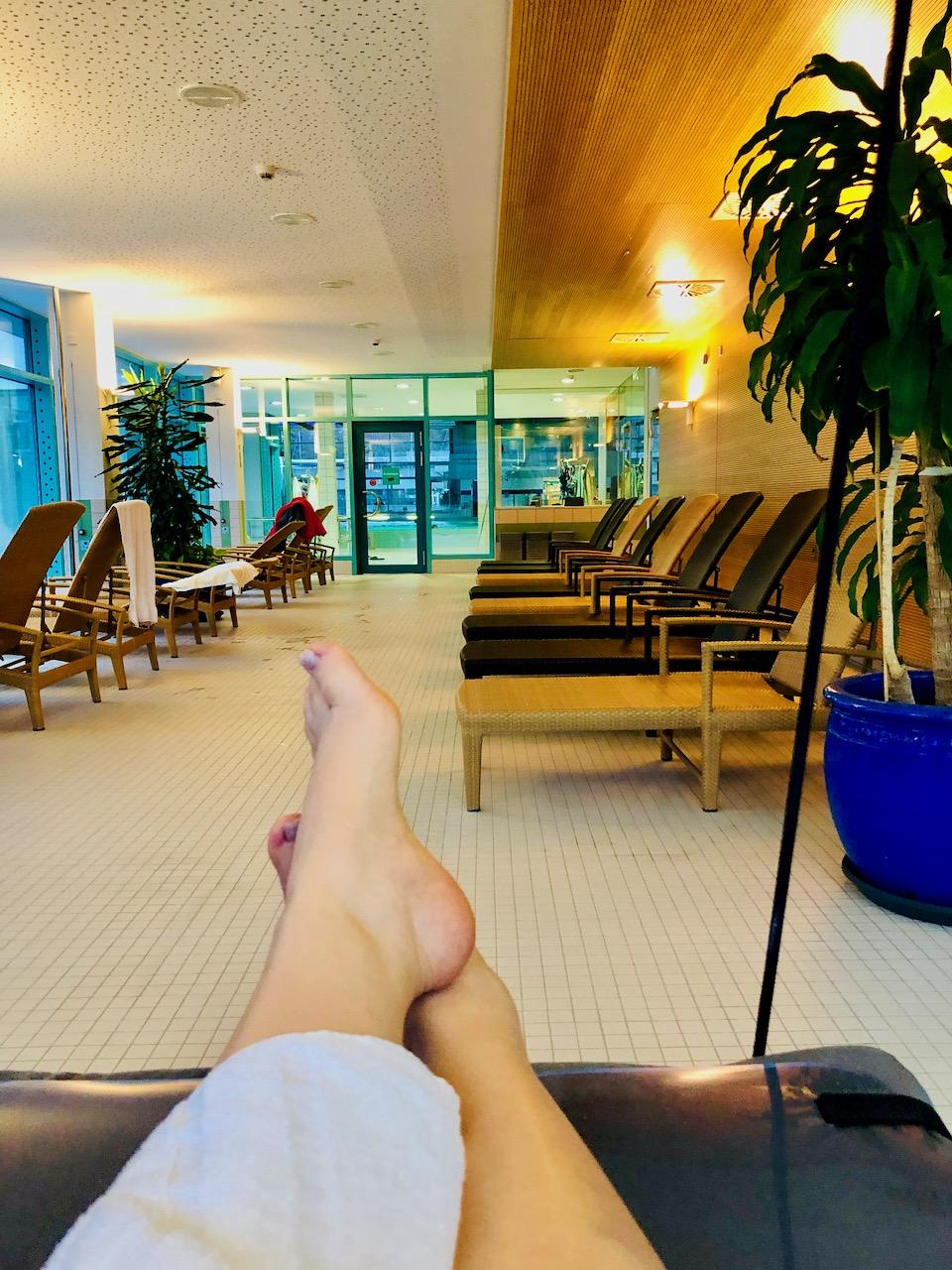Bilder Therme Bad Bevensen Entspannt chillen nach der Massage