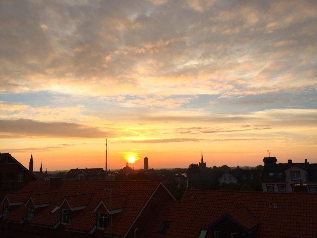 Sonnenaufgang Borkum
