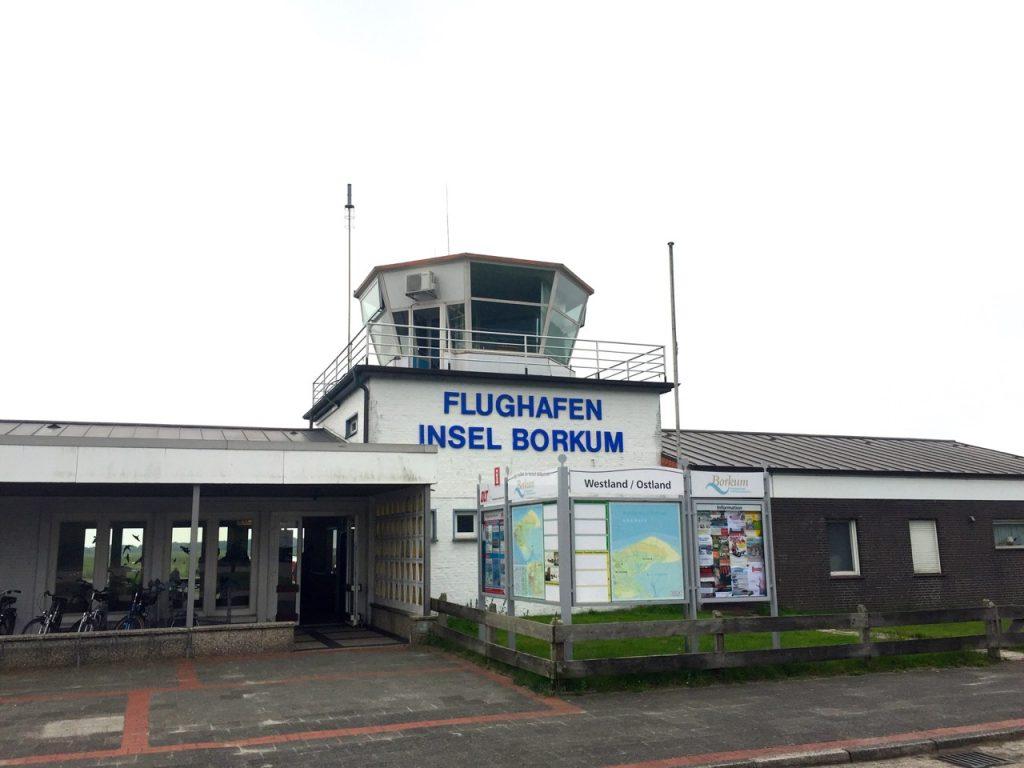 Anreise Borkum - Flughafen Borkum