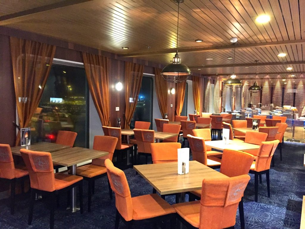 Blick ins Bistro Finnlines Finnstar