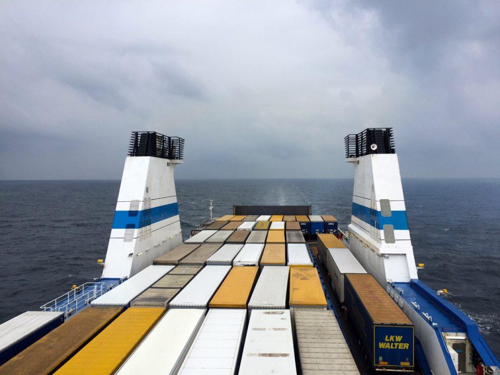 Finnlines Schiffe sind hauptsächlich Transportschiffe und Fähren