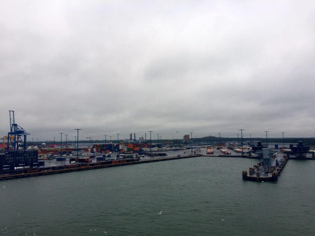 Finnlines Ankunft Helsinki
