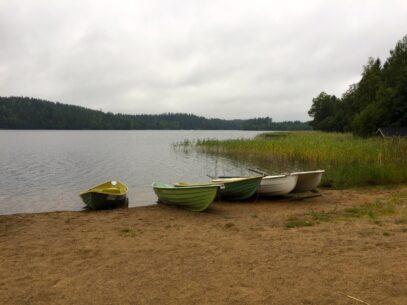 Reise nach Finnland an den Saimaa See