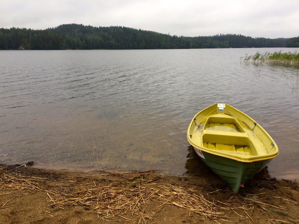 Finnland Reise im September an denSaiima See