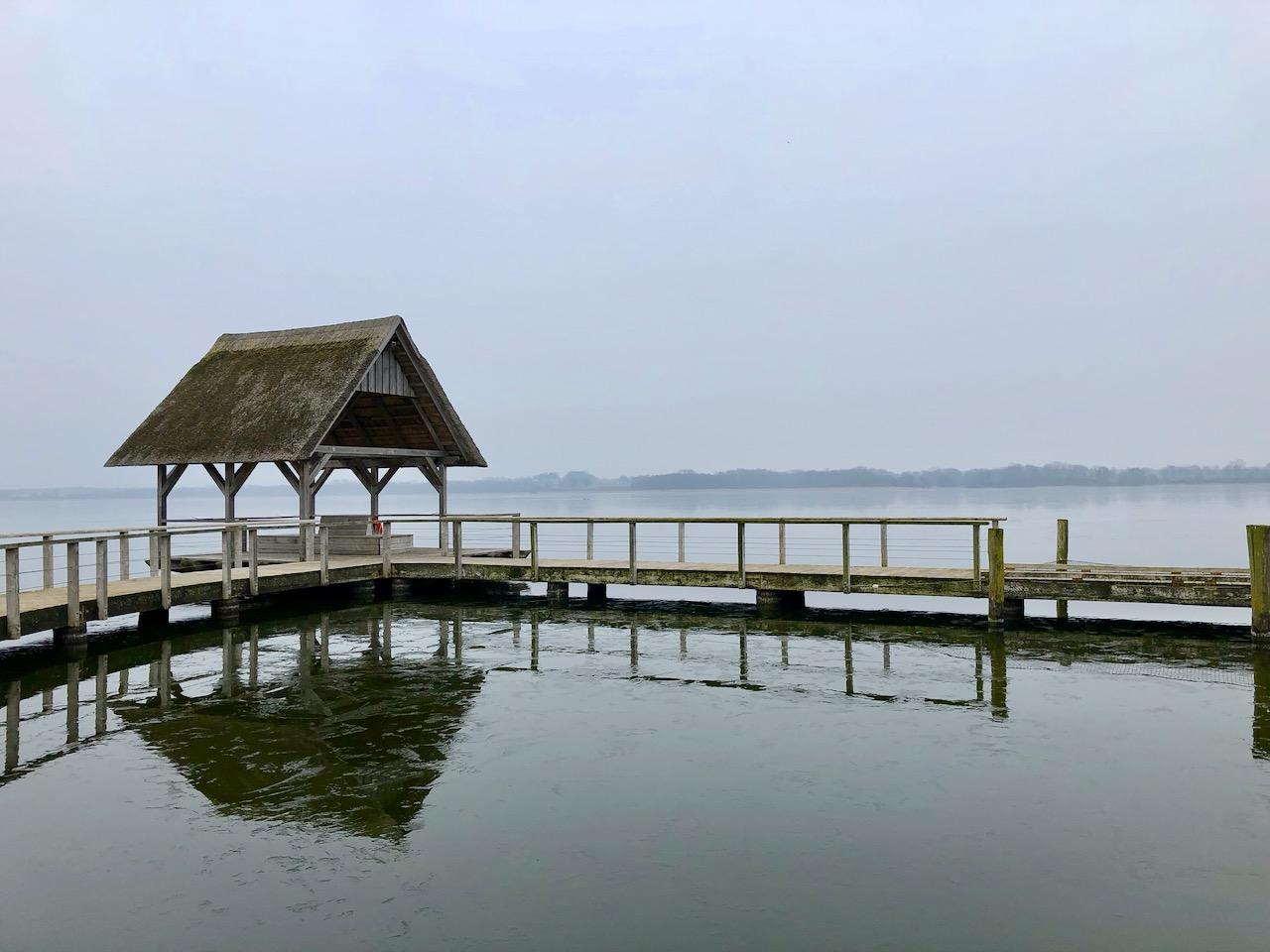 Hemmelsdorfer See im Winter