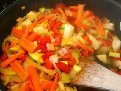 In Gemüse stecken eher wenig Phosphate