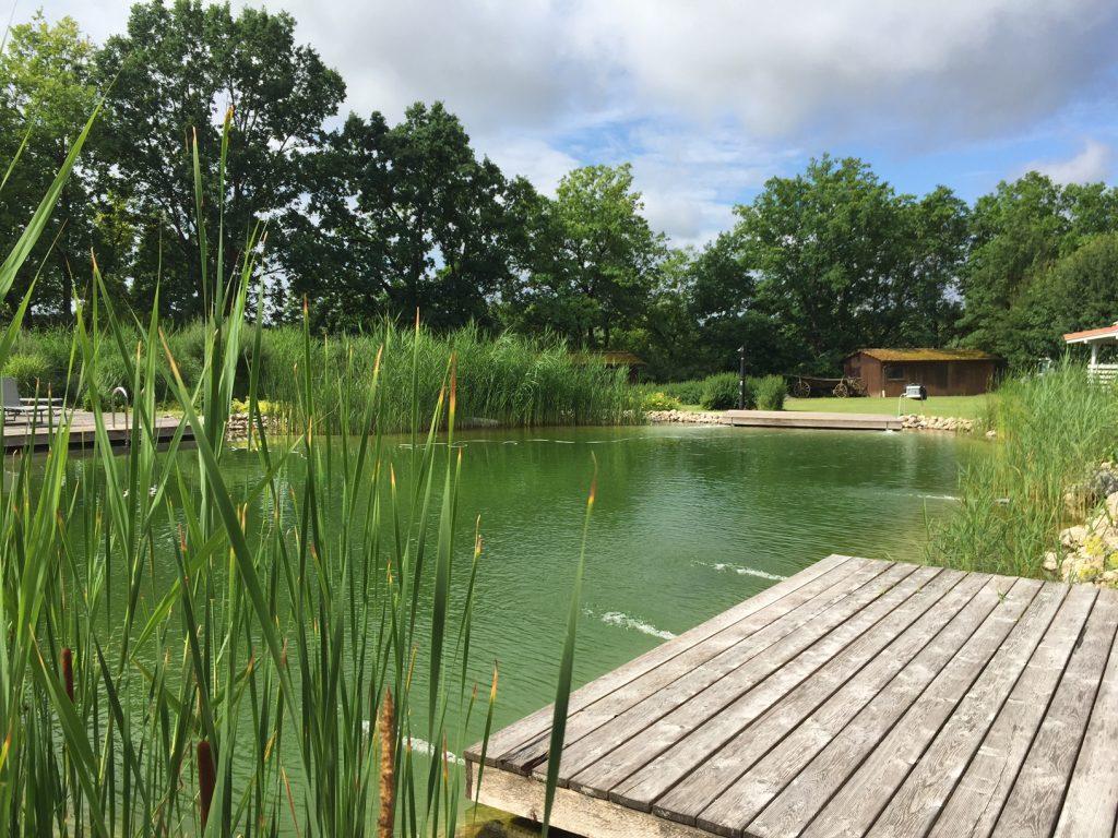 Wellnessfeeling - Badeteich Camping Sonnland