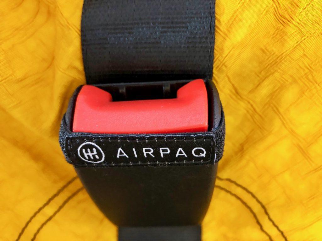 Airpaq gelb (Verschluss)