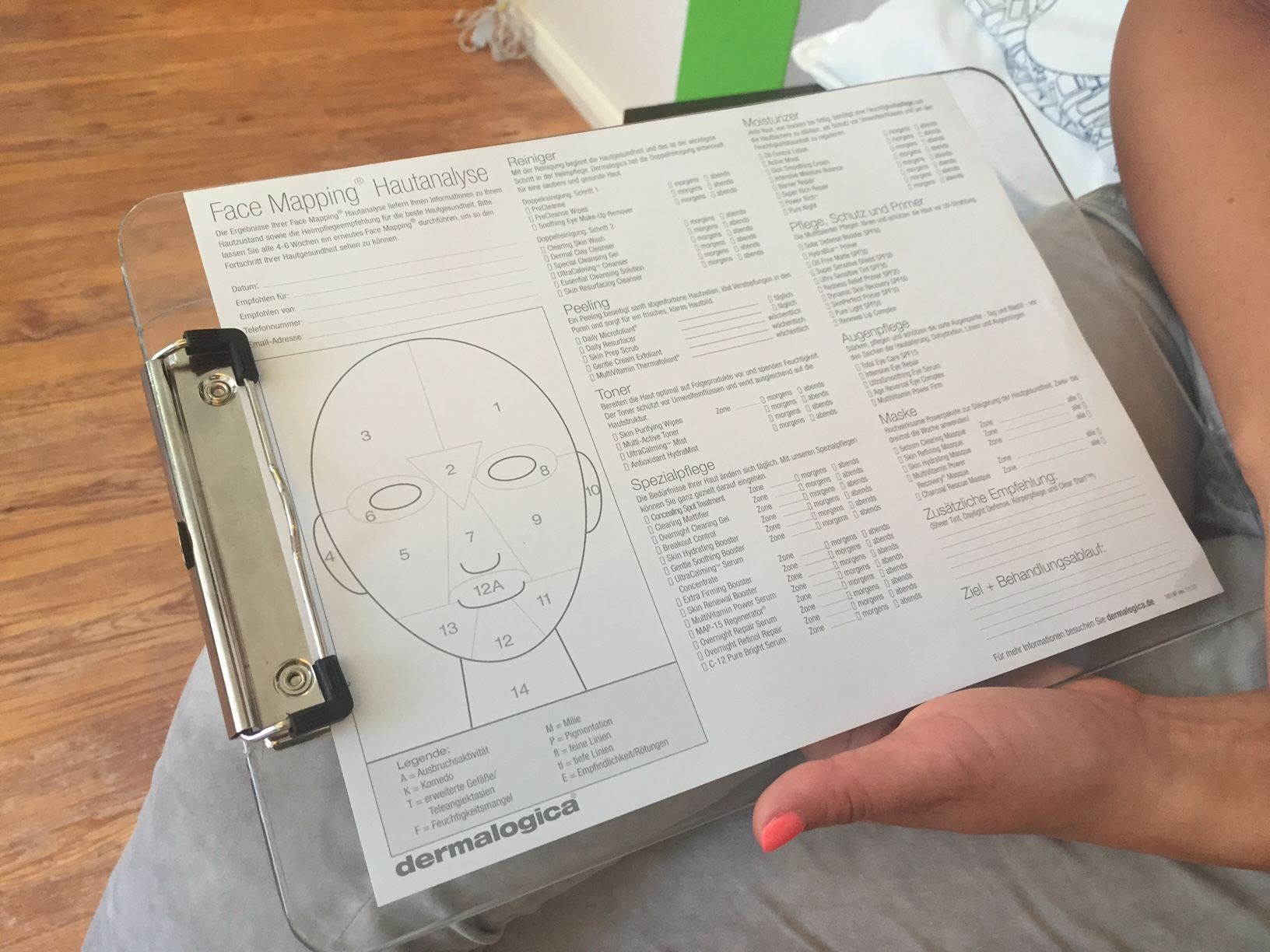 Dermalogica Face Mapping - Wellness & mehr on