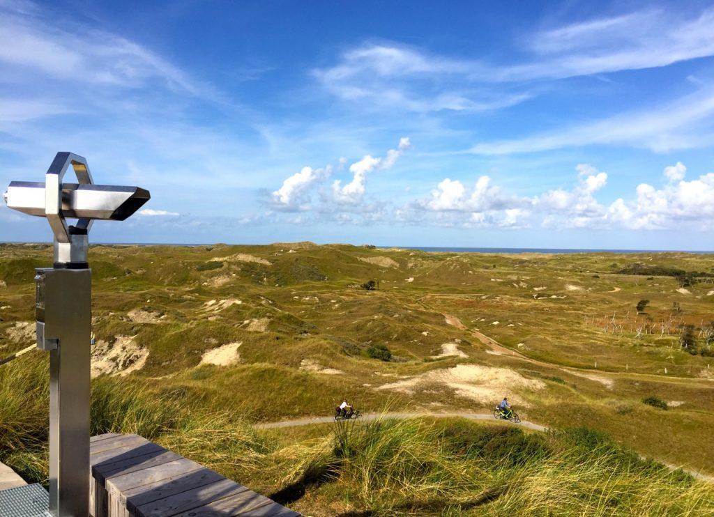 Blick über die Insel Norderney