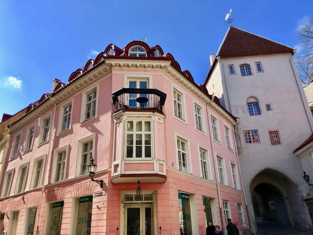 Unterwegs in Tallinn's Ober- und Unterstadt