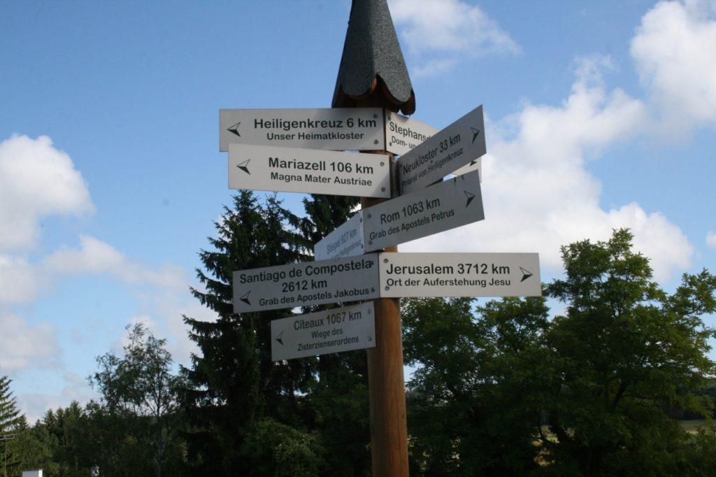 Pilgerwege Oesterreich