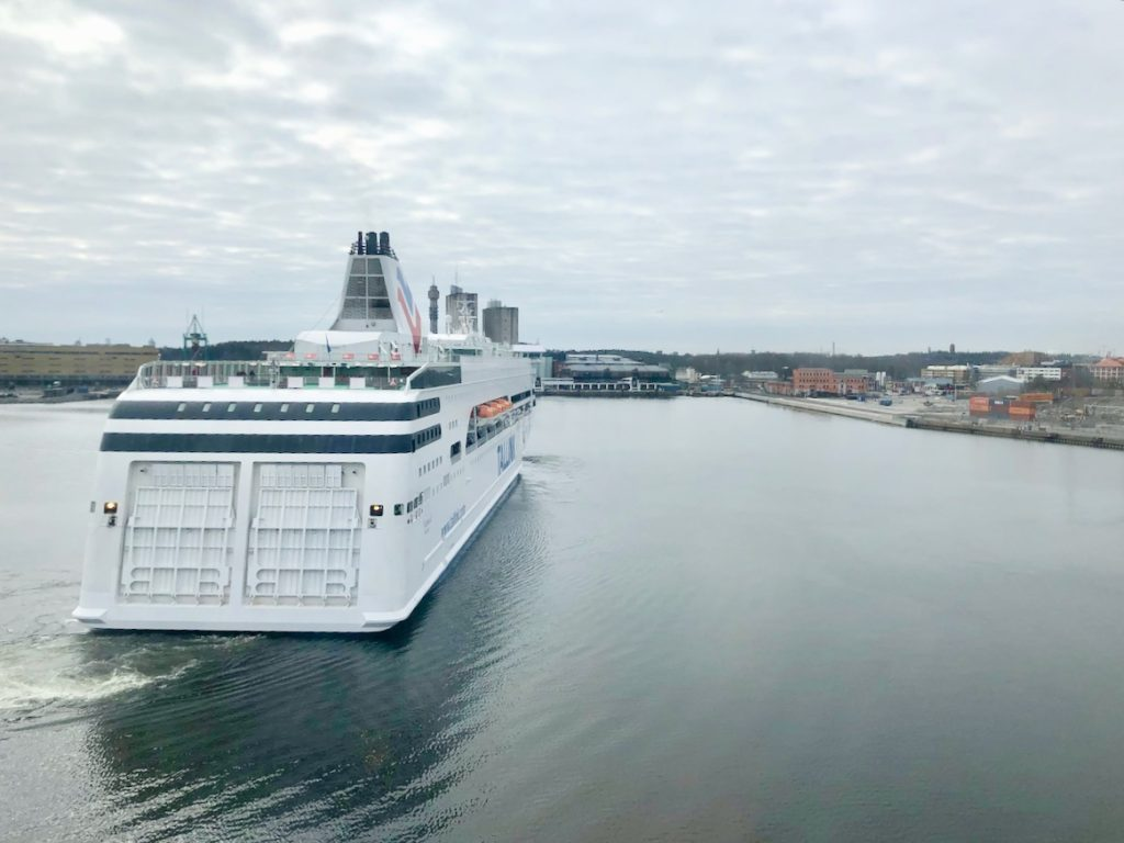 Unterwegs mit Tallink Silja