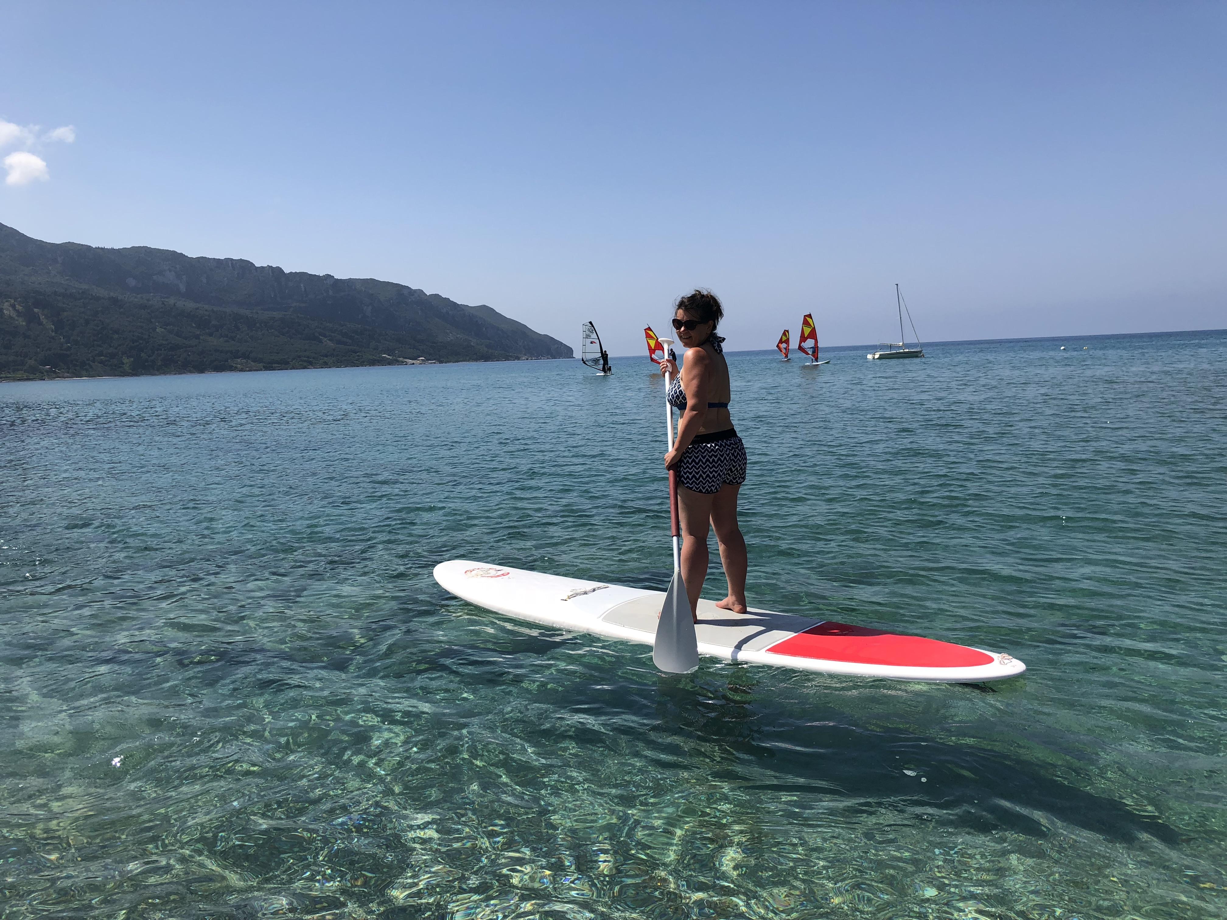 Wellness-Check: Stehpaddeln auf Korfu im Selbstversuch