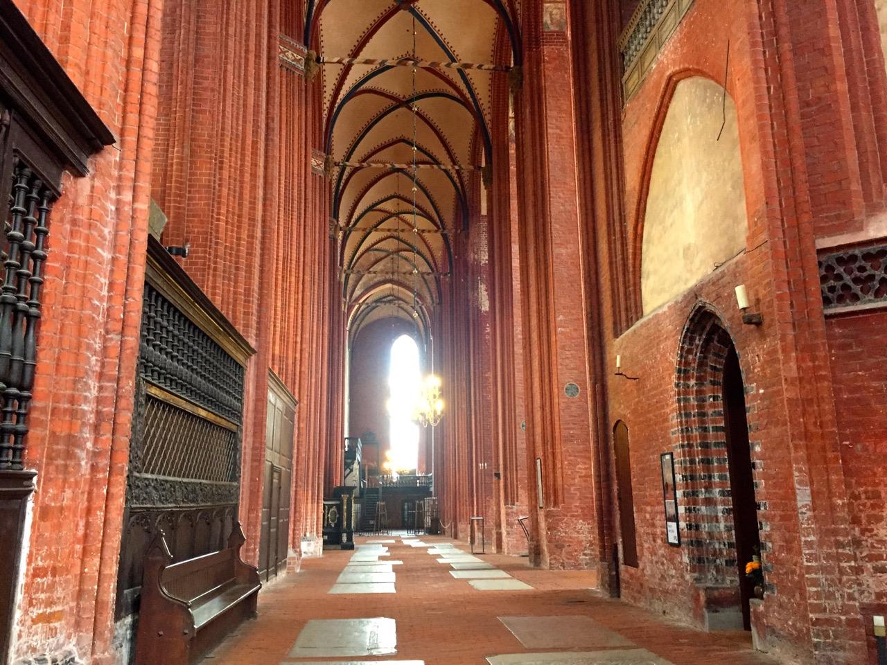 Prachtvolle Kirchen in Wismar